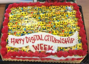 Digital Citizenship Week Cake