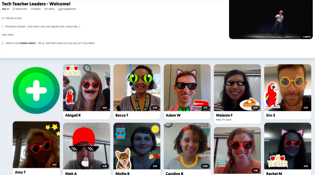 Flipgrid TTL Introductions